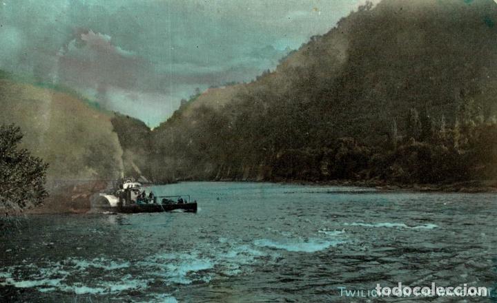 TWILIGHT ON THE VANGANUT NEW ZEALAND POST CARD (Postales - Postales Extranjero - Oceanía)