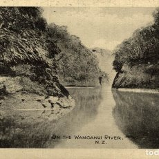 Postales: ON THE WANGANUI RIVER NEW ZEALAND POST CARD. Lote 183335011