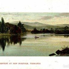 Postales: RIVER DERWENT AT NEW NORFOLK TASMANIA - AUSTRALIE -- TASMANIA -. Lote 184514220