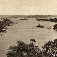 Postales: MOSMAN BAY SYDNEY HARBOUR AUSTRALIA OCEANIA. Lote 184514342
