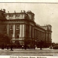 Postales: FEDERAL PARLIAMENT HOUSE MELBOURNE AUSTRALIA OCEANIA. Lote 184514368