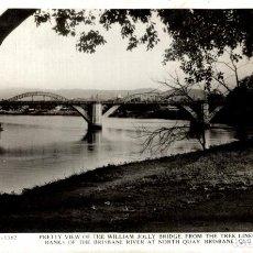 Postales: WILLIAM JOLLU BRIDGE TREE LINE BANKS BRISBANE RIVER NORTH QUAY BRISBANE AUSTRALIA OCEANIA. Lote 184514505