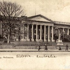 Postales: THE PUBLIC LIBRARY MELBOURNE AUSTRALIA OCEANIA. Lote 184514737