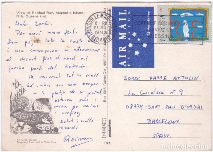 Postales: POSTAL AUSTRALIA - MAGNETIC ISLAND QUEENSLAND - Foto 2 - 186059906