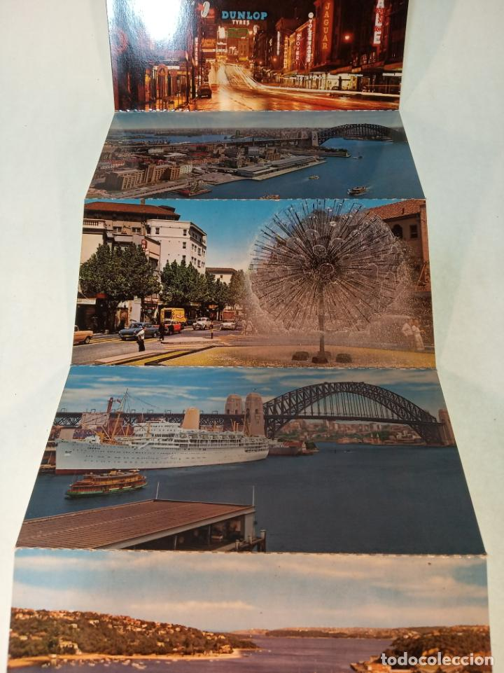 Postales: Serie de 12 postales unidas. Vistas de Sidney. Australia. Playas, monumentos,etc.. Sin circular. - Foto 3 - 190851975