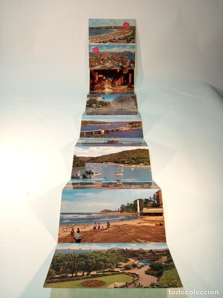SERIE DE 12 POSTALES UNIDAS. VISTAS DE SIDNEY. AUSTRALIA. PLAYAS, MONUMENTOS,ETC.. SIN CIRCULAR. (Postales - Postales Extranjero - Oceanía)