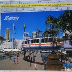 Postales: POSTAL DE AUSTRALIA. SYDNEY TREN MONORAIL EN PYRMONT BRIDGE. 2678. Lote 192677552