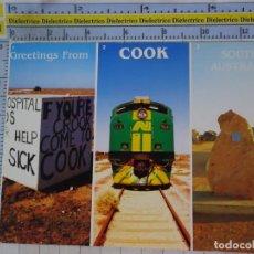 Postales: POSTAL DE AUSTRALIA. COOK. TREN LOCOMOTORA . 2681. Lote 192677660