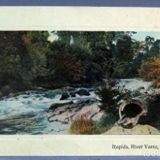 Postales: POSTAL RAPIDS RIVER YARRA WARBURTON AUSTRALIA W & B SERIES ESCRITA HACIA 1911. Lote 193583860
