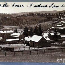 Postais: POSTAL FOTOGRÁFICA OMEO AUSTRALIA VISTA GENERAL ESCRITA HACIA 1911. Lote 193615767