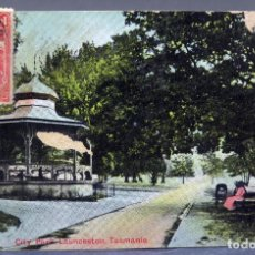 Postales: POSTAL CITY PARK LAUNCESTON TASMANIA SPURLING & SON CIRCULADA SELLO 1911. Lote 193616915