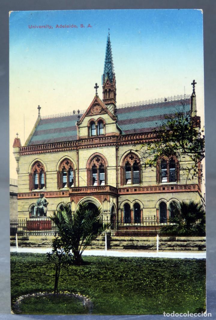 POSTAL ADELAIDE THE UNIVERSITY AUSTRALIA ESCRITA 1912 (Postales - Postales Extranjero - Oceanía)