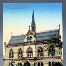 Postales: POSTAL ADELAIDE THE UNIVERSITY AUSTRALIA ESCRITA 1912. Lote 193618652