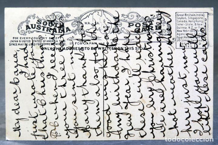 Postales: Postal Adelaide Fire Station estación bomberos Australia escrita hacia 1912 - Foto 2 - 193618947