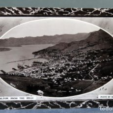 Postales: POSTAL LYTTELTON FROM THE HILLS NUEVA ZELANDA NEW ZEALAND PHOTO HILLSDON ESCRITA 1911. Lote 195104407