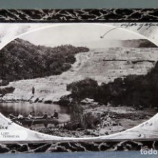 Postales: POSTAL FOTOGRÁFICA THE LOST PINK TERRACES NEW ZEALAND NUEVA ZELANDA CIRCULADA SELLO 1911. Lote 195105960