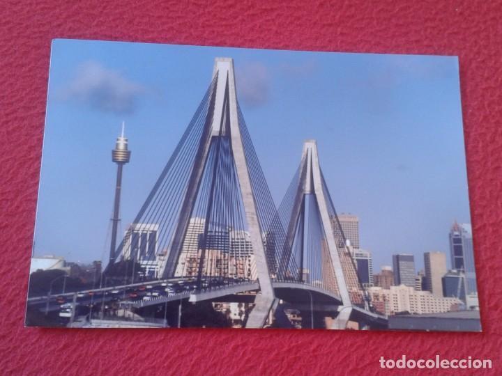 POSTAL POST CARD AUSTRALIA SIDNEY GLEBE ISLAND BRIDGE PUENTE PONT PONTE EN SUSPENSIÓN......VER FOTOS (Postales - Postales Extranjero - Oceanía)