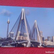 Postales: POSTAL POST CARD AUSTRALIA SIDNEY GLEBE ISLAND BRIDGE PUENTE PONT PONTE EN SUSPENSIÓN......VER FOTOS. Lote 197184781