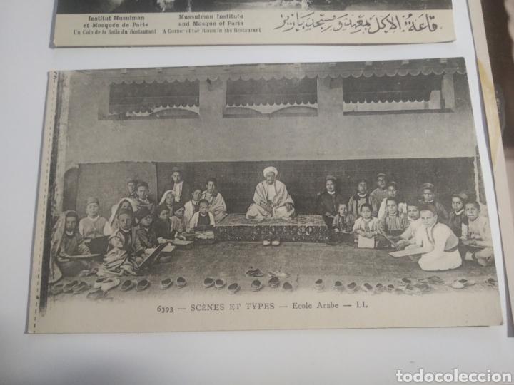 Postales: Lote postales típicas árabes restaurant hammam paris - Foto 8 - 199142596
