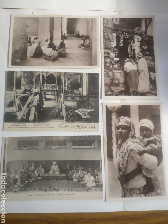 LOTE POSTALES TÍPICAS ÁRABES RESTAURANT HAMMAM PARIS (Postales - Postales Extranjero - Oceanía)