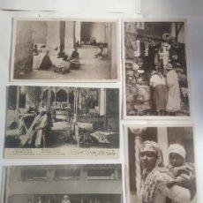 Postales: LOTE POSTALES TÍPICAS ÁRABES RESTAURANT HAMMAM PARIS. Lote 199142596
