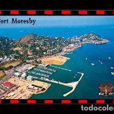 Postales: PAPUA NUEVA GUINEA PUERTO MORESBY VISTA AEREA S/C. Lote 203724366