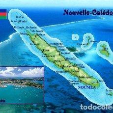 Postales: NUEVA CALEDONIA MAPA S/C. Lote 203724747
