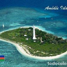 Postales: NUEVA CALEDONIA ISLA AMEDEE VISTA AEREA FARO S/C. Lote 203725268