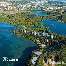 Postales: NUEVA CALEDONIA NUMEA VISTA AEREA CENTRO CULTURAL JEAN-MARIE TJIBAOU S/C. Lote 203725428