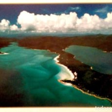 Postales: QUEENSLAND. HILL INLET. WHITSUNDAYS. USADA CON SELLO. COLOR. Lote 205879311