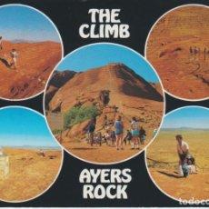 Postales: THE CLIMB. AYERS ROCK . AUSTRALIA. Lote 206277718