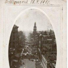 Postales: POSTAL AUSTRALIA - ELIZABETH STREET - MELBOURNE - 1910. Lote 213143021