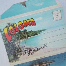 Postales: POSTAL1569 - CURT TEICH CHICAGO USA - FUELLE 12 VISTAS LOLOMA FIJI ISLANDS. Lote 217280903