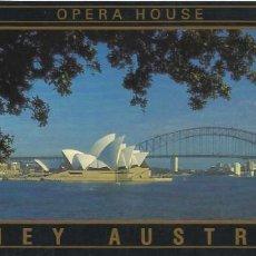 Postales: AUSTRALIA. OPERA HOUSE. SIDNEY. BUEN ESTADO. 1993. ART MAIL. 11X21 CM.. Lote 220387561