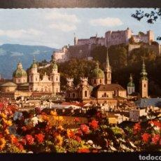 Postales: POSTAL DE. SALZBURG. ALTSTADT UNA HOHENSALZBURG. AUSTRIA.. Lote 241681420