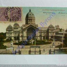 Postales: EXHIBITION BUILDINGS. MELBOURNE. AUSTRALIA. Lote 243945625