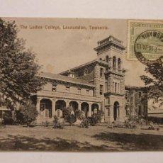 Postales: AUSTRALIA - TASMANIA - COLEGIO LAUNCESTON - P47573. Lote 246021370