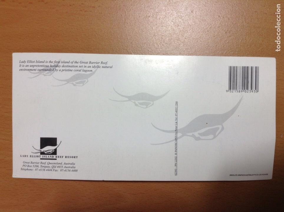 Postales: POSTAL APAISADA LADY ELLIOT ISLAND AUSTRALIA 21X10 CM - Foto 2 - 250113515