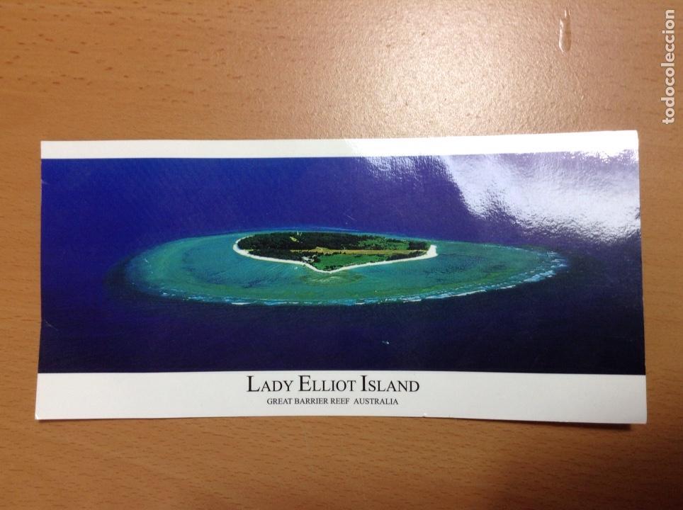 POSTAL APAISADA LADY ELLIOT ISLAND AUSTRALIA 21X10 CM (Postales - Postales Extranjero - Oceanía)