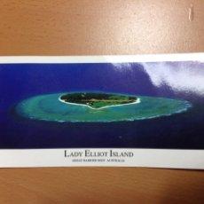 Postales: POSTAL APAISADA LADY ELLIOT ISLAND AUSTRALIA 21X10 CM. Lote 250113515
