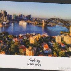 Postales: POSTAL SIN CIRCULAR ESCRITA SYDNEY NSW 2000 AUSTRALIA POST CARD. Lote 251073880