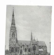 Postales: POSTAL ANTIGUA- SOUVENIR DE BRUXELLES- L' EGLISE D' ANDERLECHT. Lote 262075115