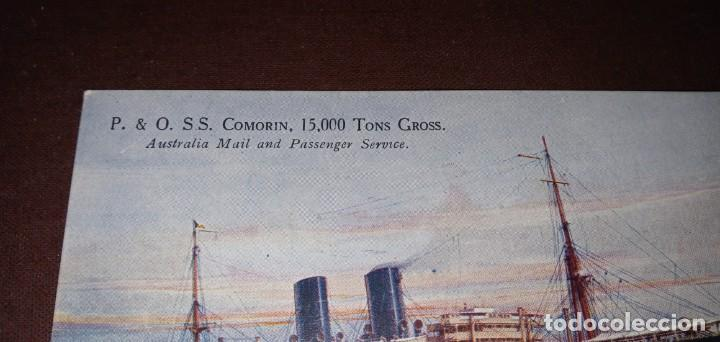 POSTAL ANTIGUA BARCO COMORIN AUSTRALIA (Postales - Postales Extranjero - Oceanía)
