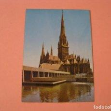 Postales: POSTAL DEL CATEDRAL DEL SAN PATRICIO, ST. PATRICKS CATHEDRAL, MELBOURNE, AUSTRALIA.. Lote 265570394