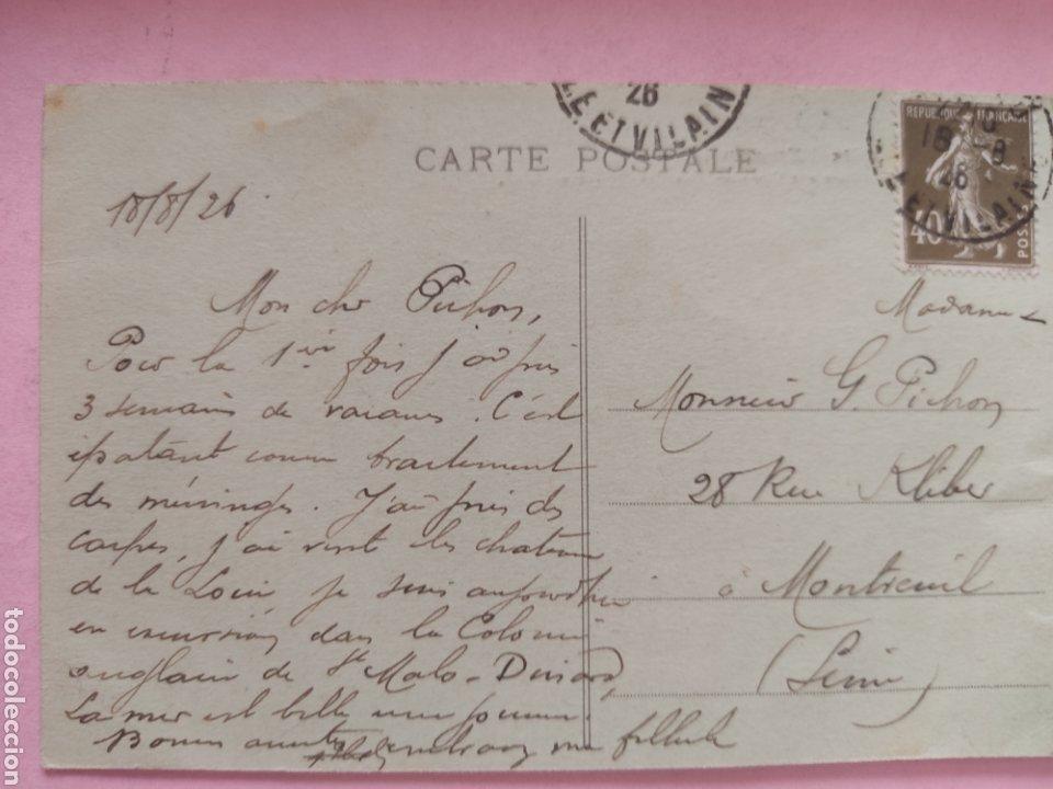 Postales: Postal Francia. SAINT MALO - Foto 4 - 269770268