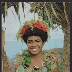 Postales: ISLAS FIJI. NASILAI TROPICANA. *THIS TRULY FIJIAN TOURIST...* CIRCULADA 1973.. Lote 272235173