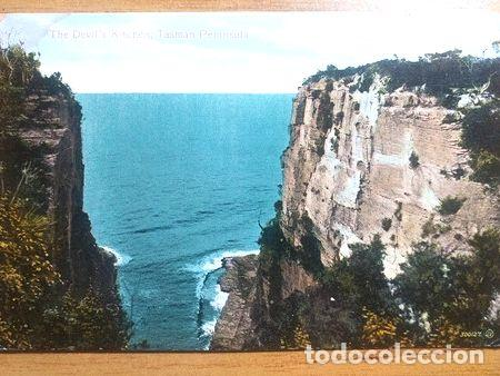 AUSTRALIA TASMAN PENINSULA POSTAL THE DEVILS KITCHEN (Postales - Postales Extranjero - Oceanía)