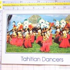 Postales: POSTAL DE OCEANIA. TAHITÍ. MUJERES BAILARINAS TIPISMO FOLKLORE. 196. Lote 285808258