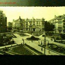 Postales: POSTAL DE BILBAO. PLAZA DE FEDERICO MOYÚA. Lote 15014669