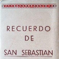 Postales: 10 VISTAS -SAN SEBASTIAN-. Lote 13623274